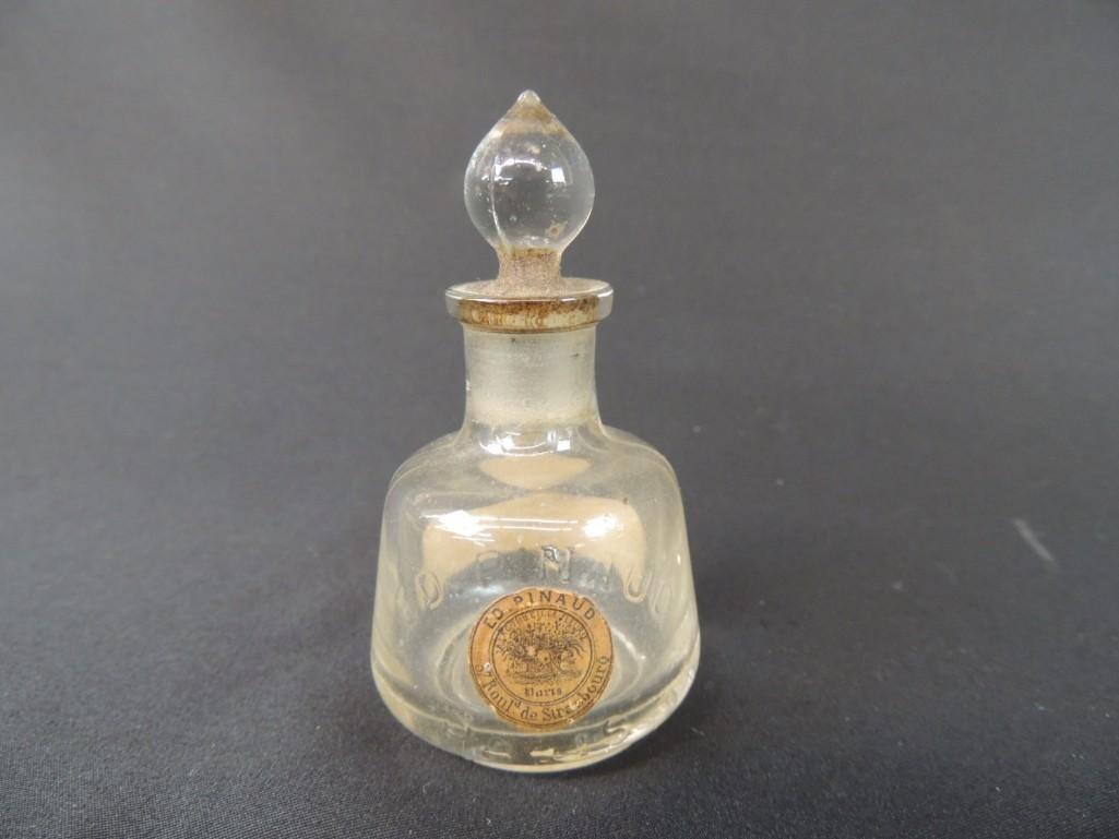 A LA Corbeille Fleurie Paris France Perfume Bottle with - 2