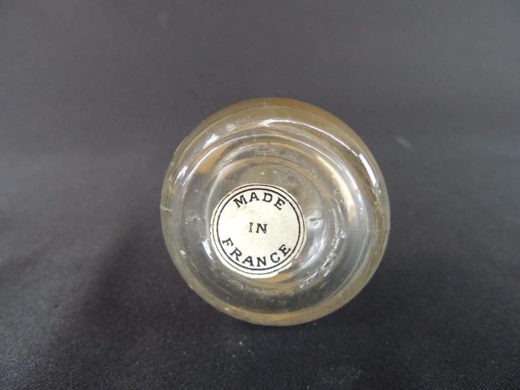 A LA Corbeille Fleurie Paris France Perfume Bottle with - 3