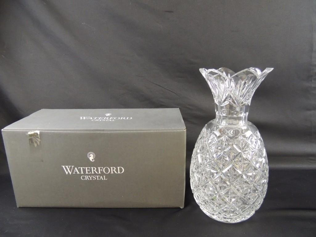 Waterford Crystal Vase with Original Box - 3