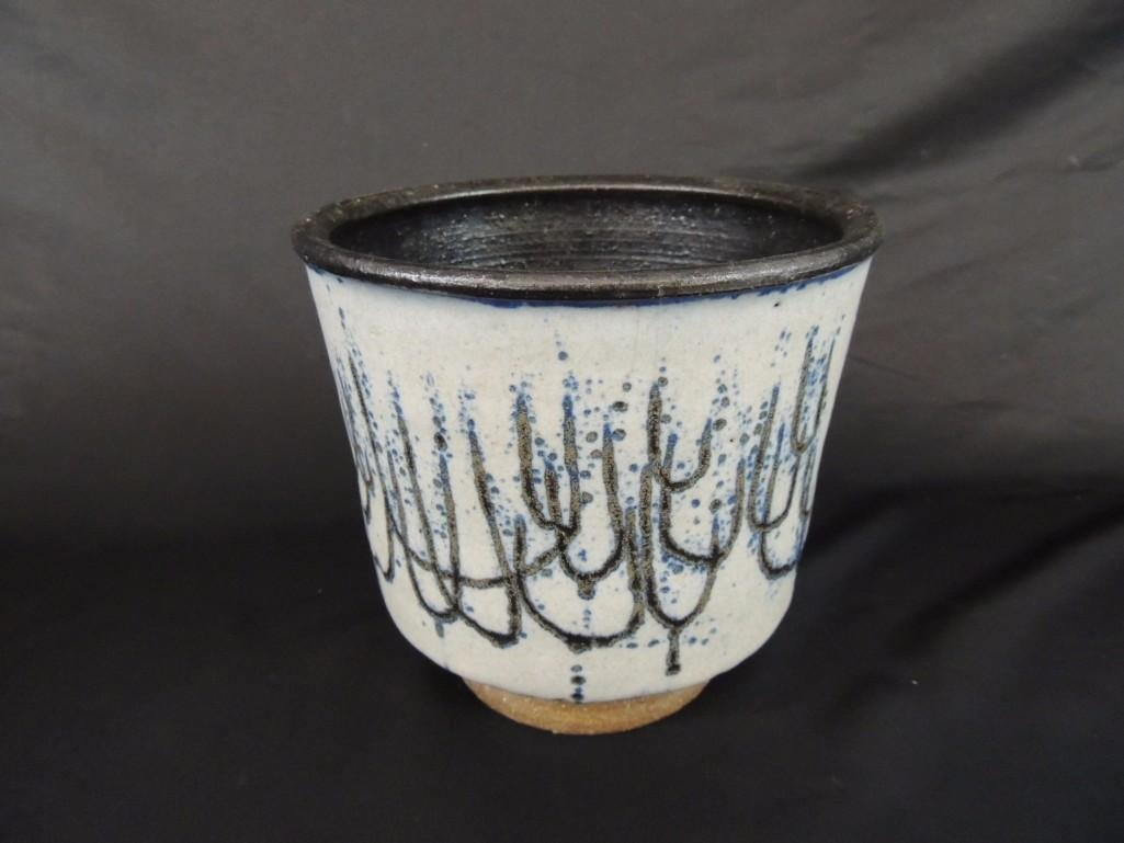 Edna Arnow Studio Pottery Planter