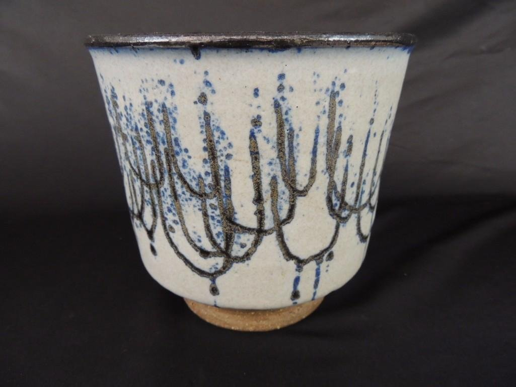Edna Arnow Studio Pottery Planter - 2