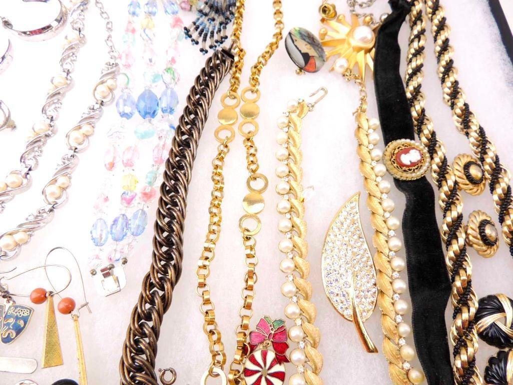 Lot of Vintage Costume Jewelry - 3