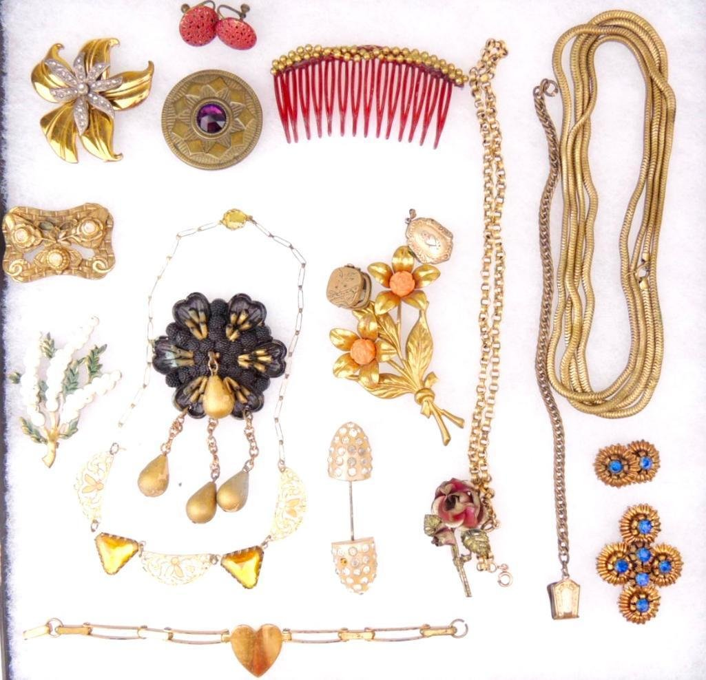 Lot of Vintage Pre 1950s Jewelry