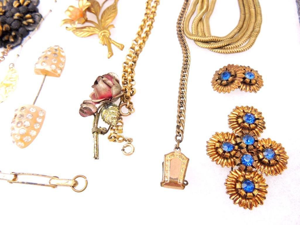 Lot of Vintage Pre 1950s Jewelry - 2
