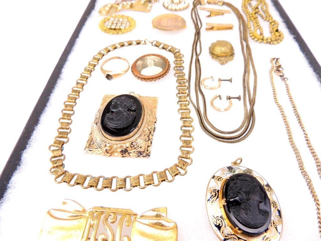 Lot of Victorian & Edwardian Jewelry - 2