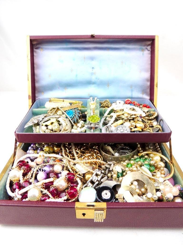 Lot of Vintage Boxed Costume Jewelry