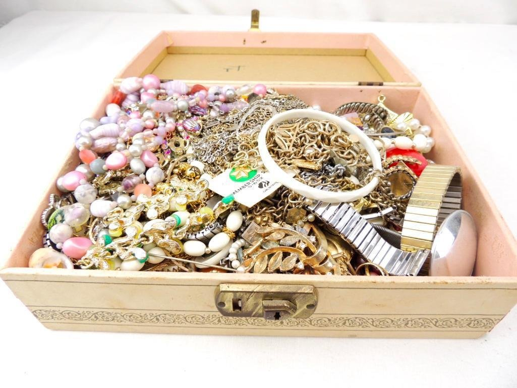 Group of Vintage Costume Jewelry Boxed Lot