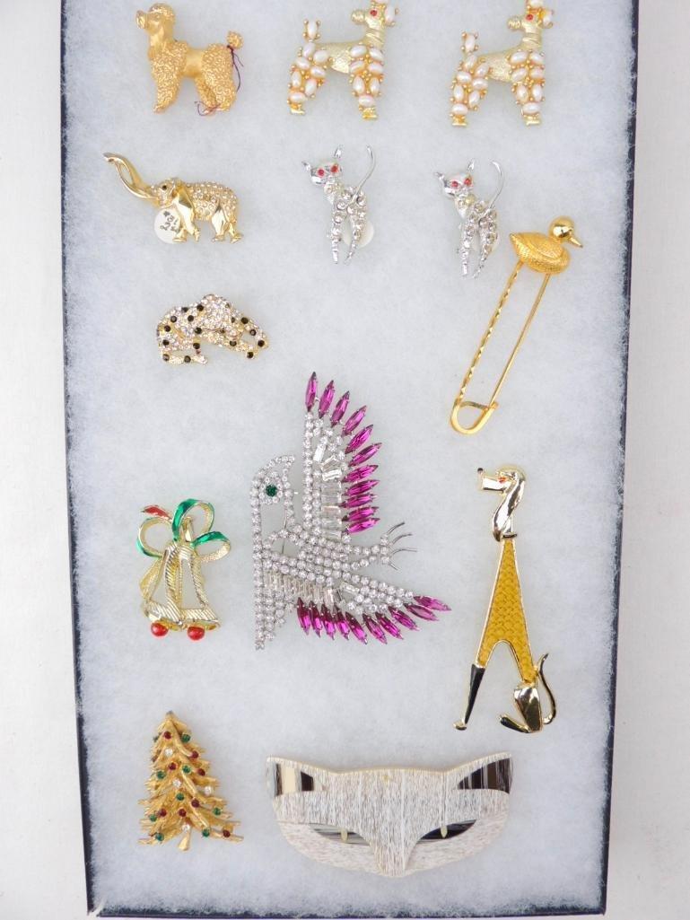 Vintage Group of Animal Pins