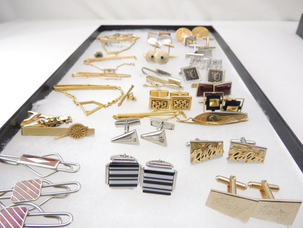 Lot of Vintage Men's Jewelry - 2