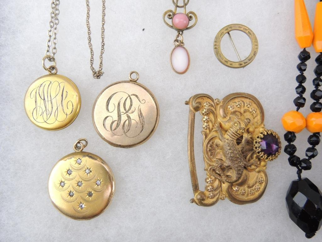 Lot of Victorian & Antique Jewelry - 2