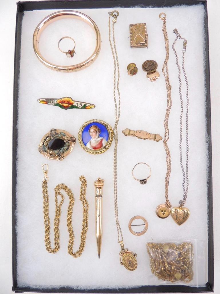Lot of Victorian & Edwardian Jewelry
