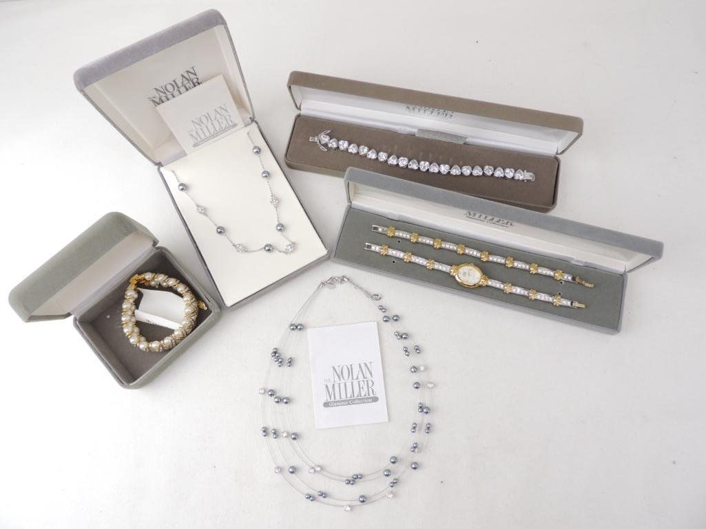 Lot of Nolan Miller Costume Jewelry