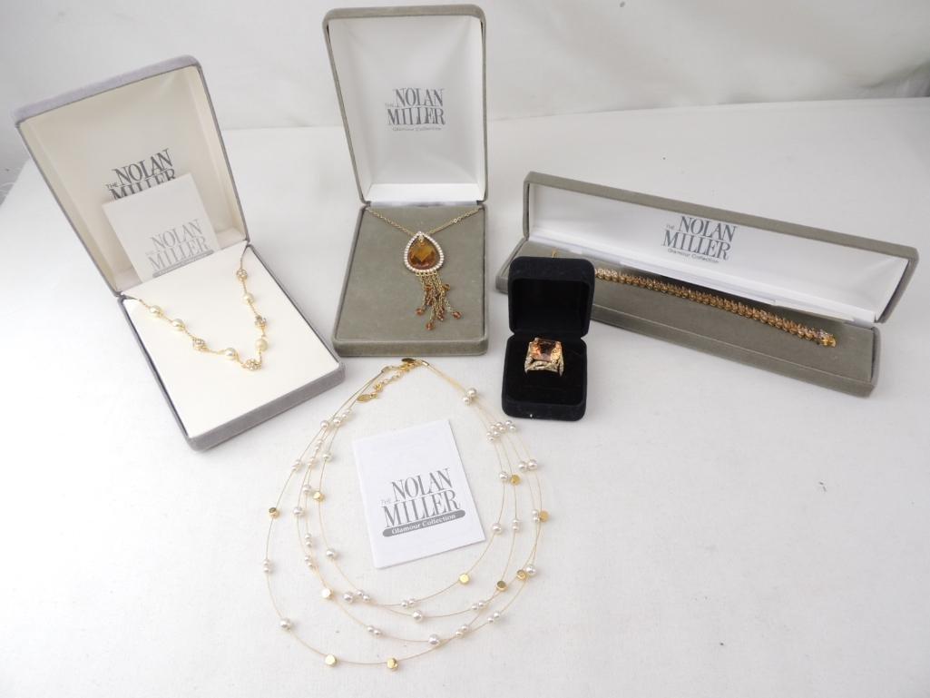 Nolan Miller Costume Jewelry Lot