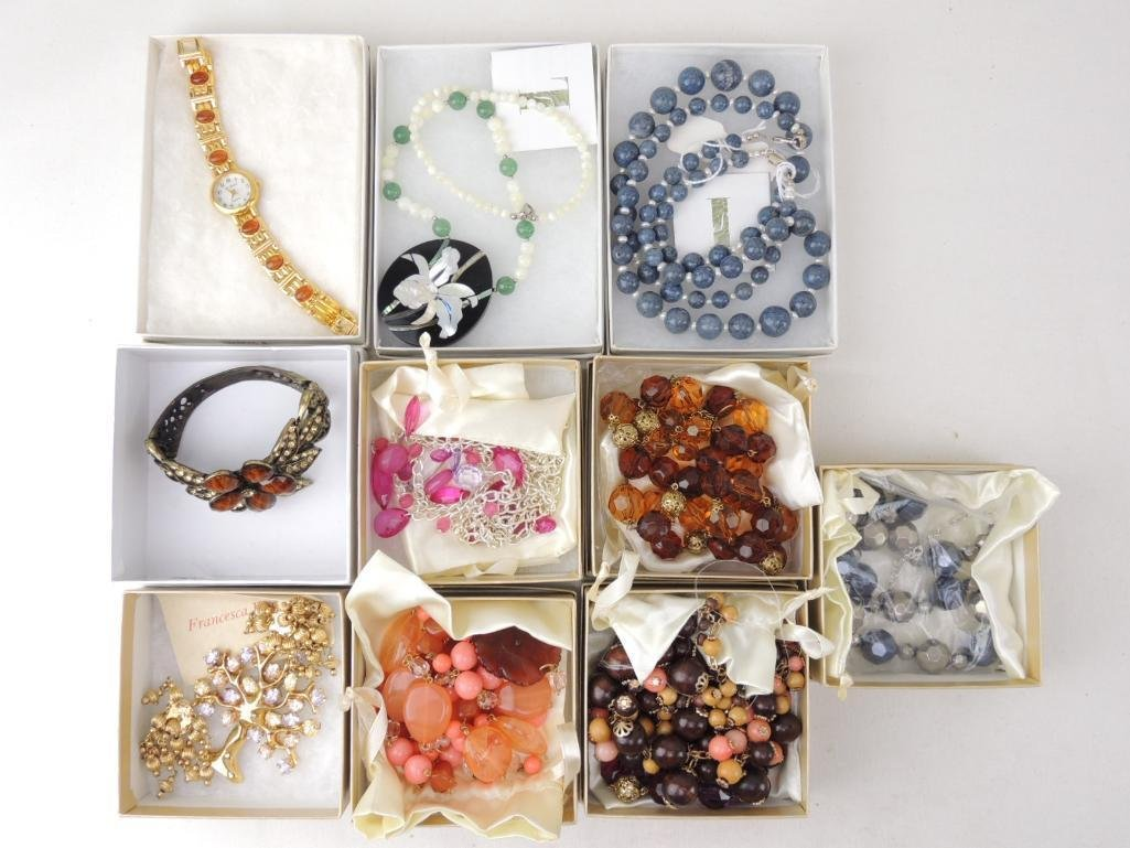 Lot of Boxed QVC Costume Jewelry