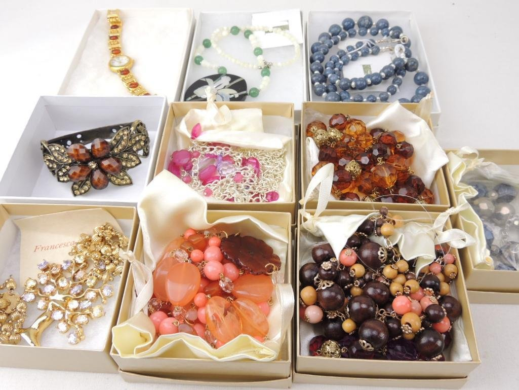 Lot of Boxed QVC Costume Jewelry - 2