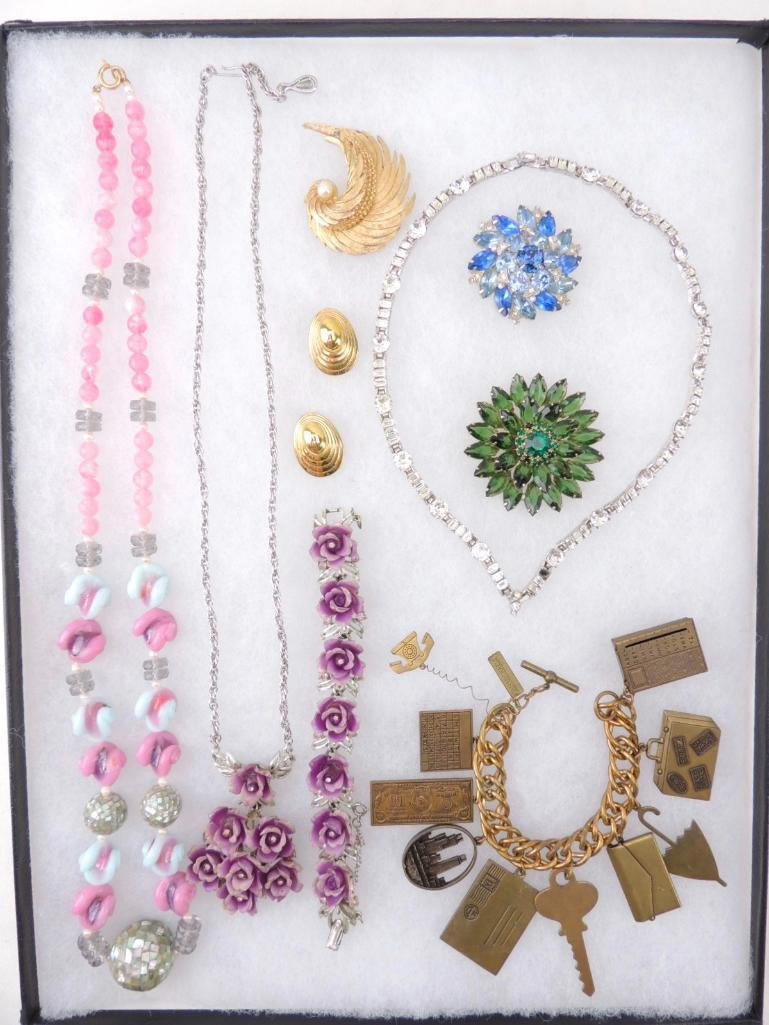 Signed Lot of Vintage Jewelry
