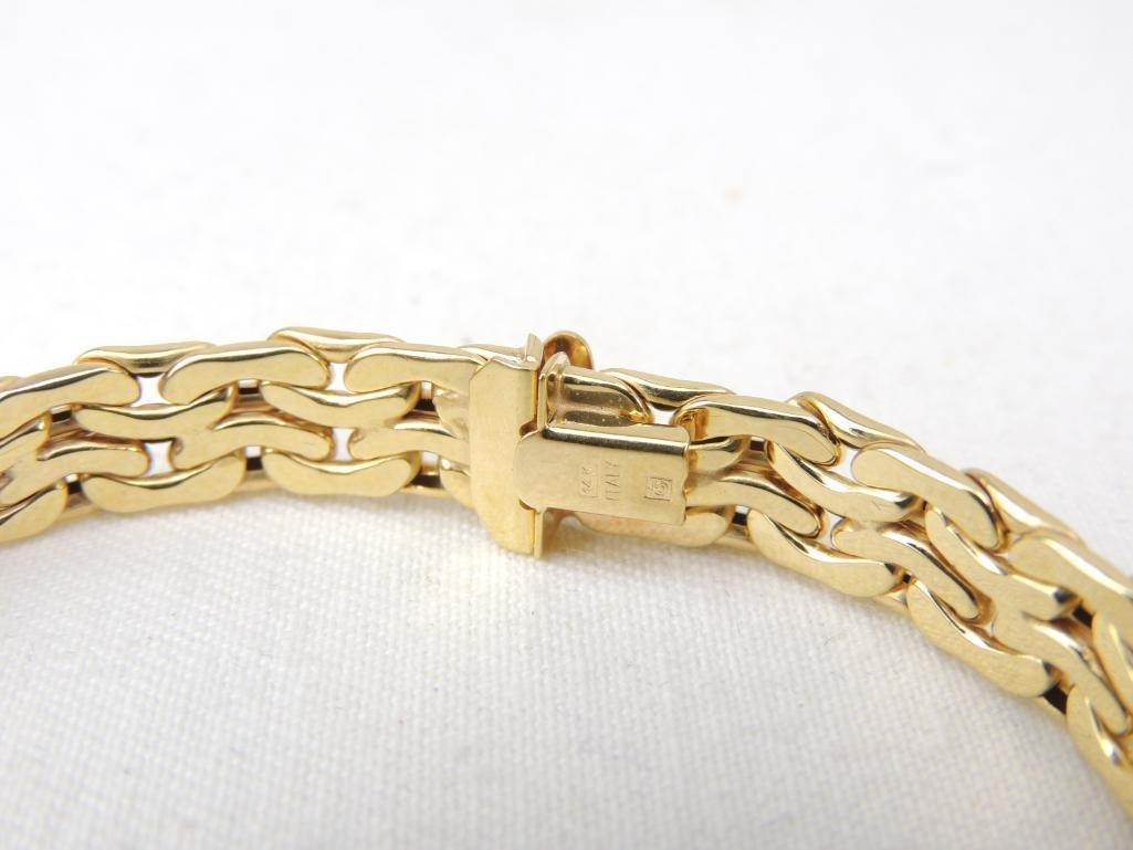 14k Yellow Gold Bracelet - 2