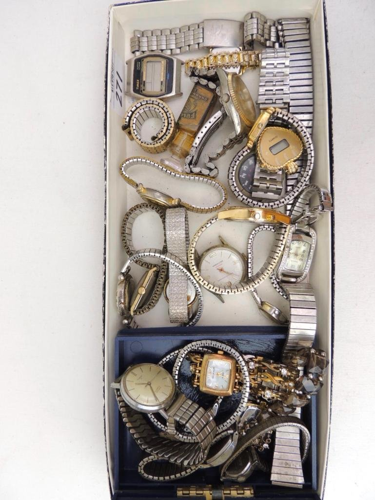 Large Lot of Vintage and Modern Wrist Watches - 2