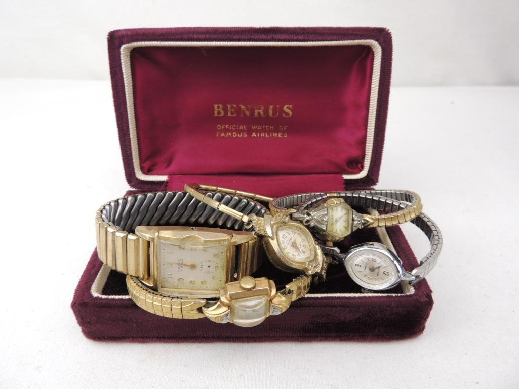 Vintage Wrist Watch Group