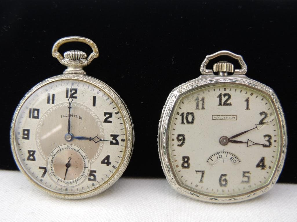 Lot of 2 Antique Pocket Watches