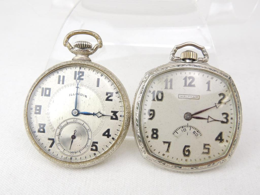 Lot of 2 Antique Pocket Watches - 2