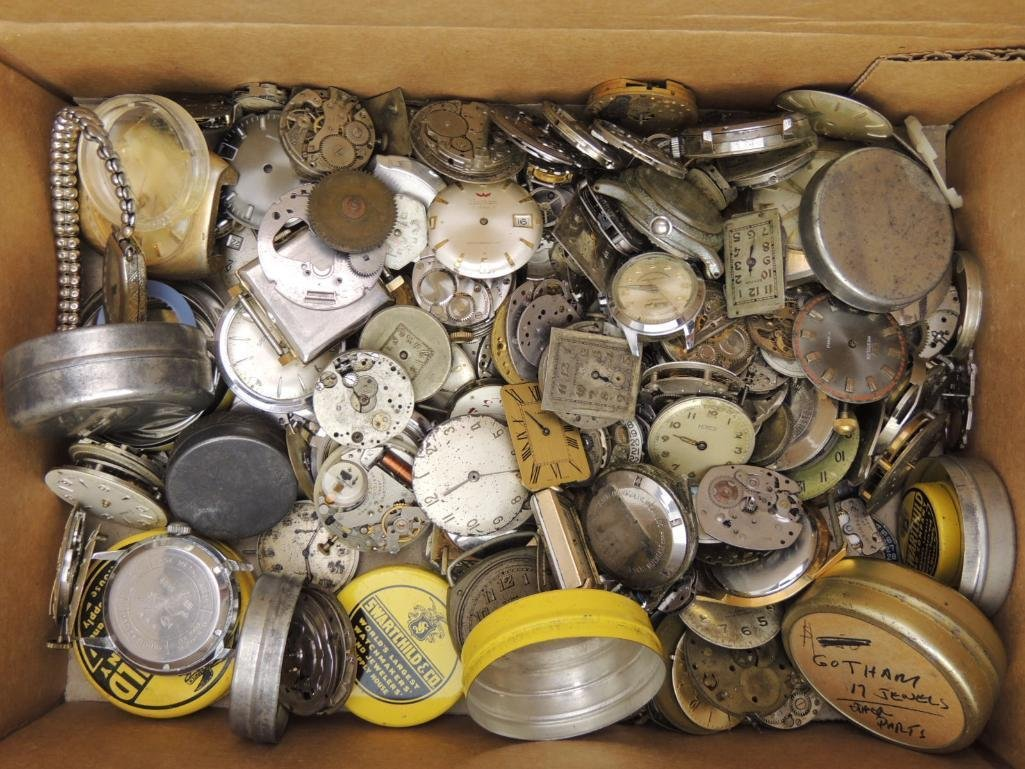 Lot of Pocket Watch Parts