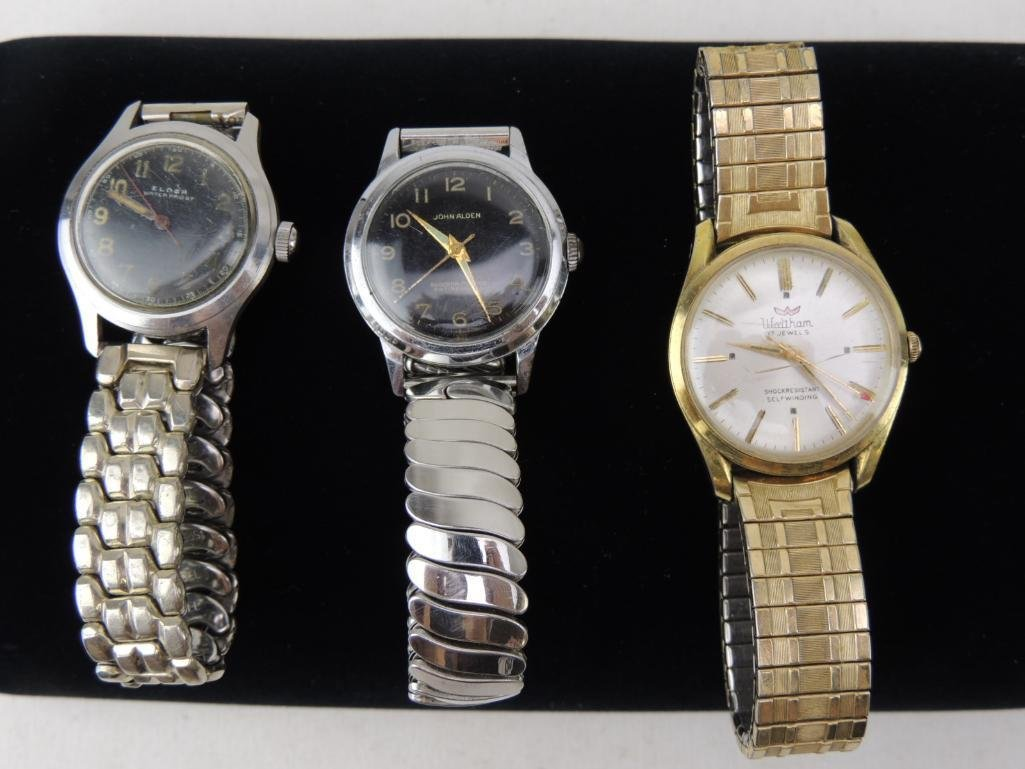 Group of 3 Vintage Men's Wrist Watches