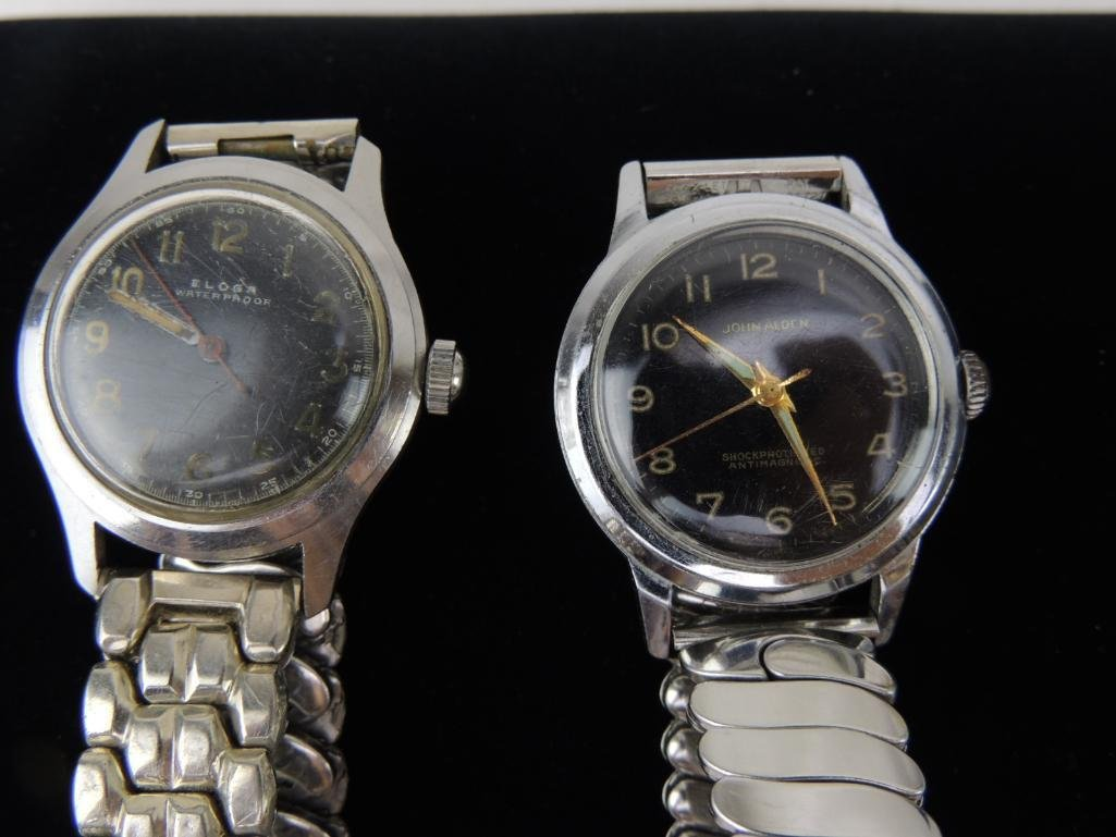 Group of 3 Vintage Men's Wrist Watches - 2