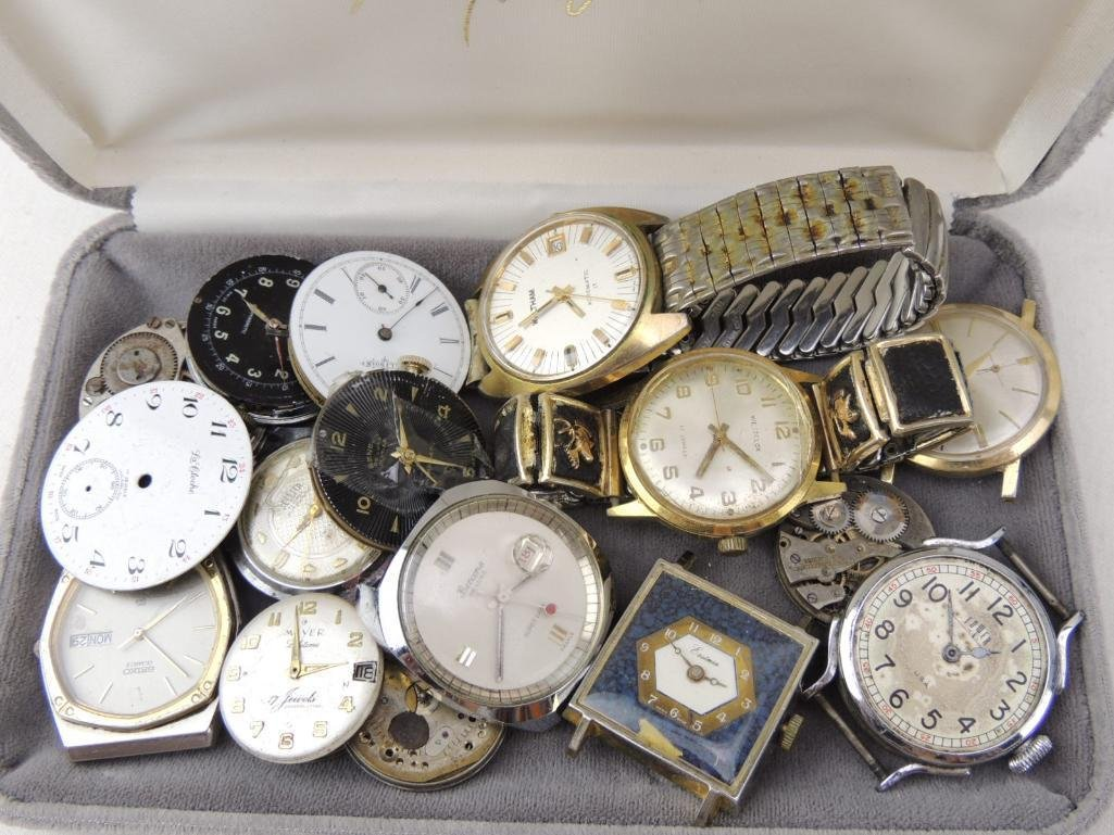 Lot of Watches for Parts & Repair