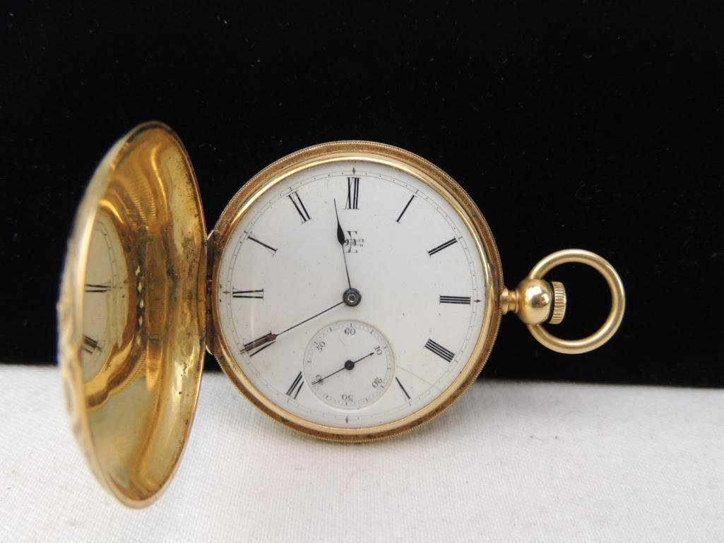 Antique Lady Elgin Pocket Watch with Box