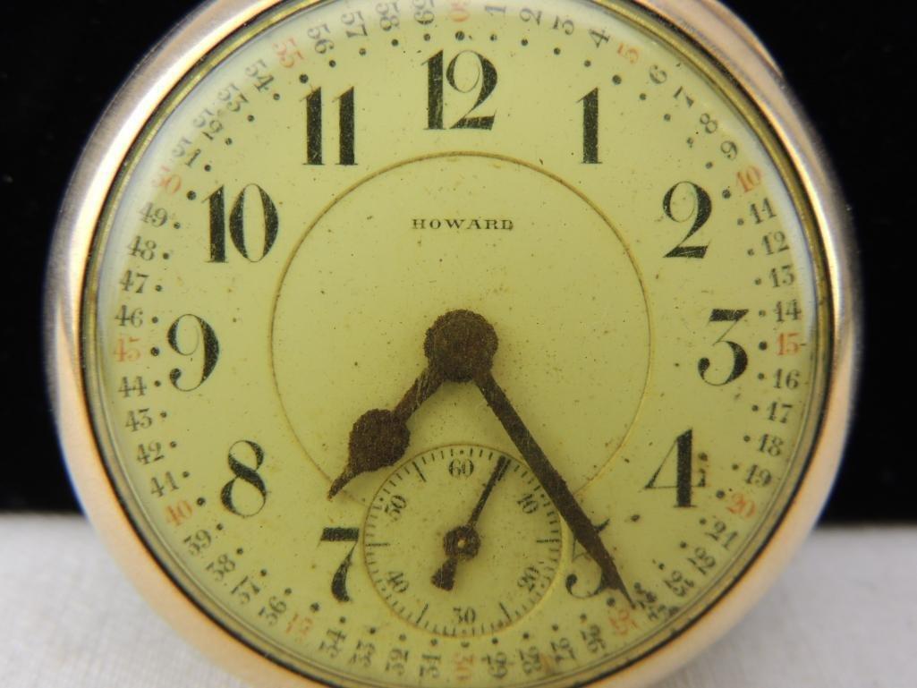 Antique Howard Pocket Watch - 2