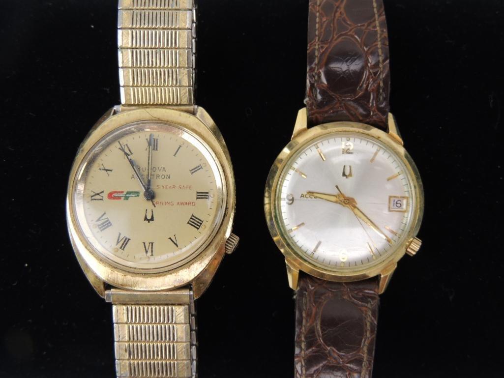 Bulova Accutron Award Watches Lot of 2
