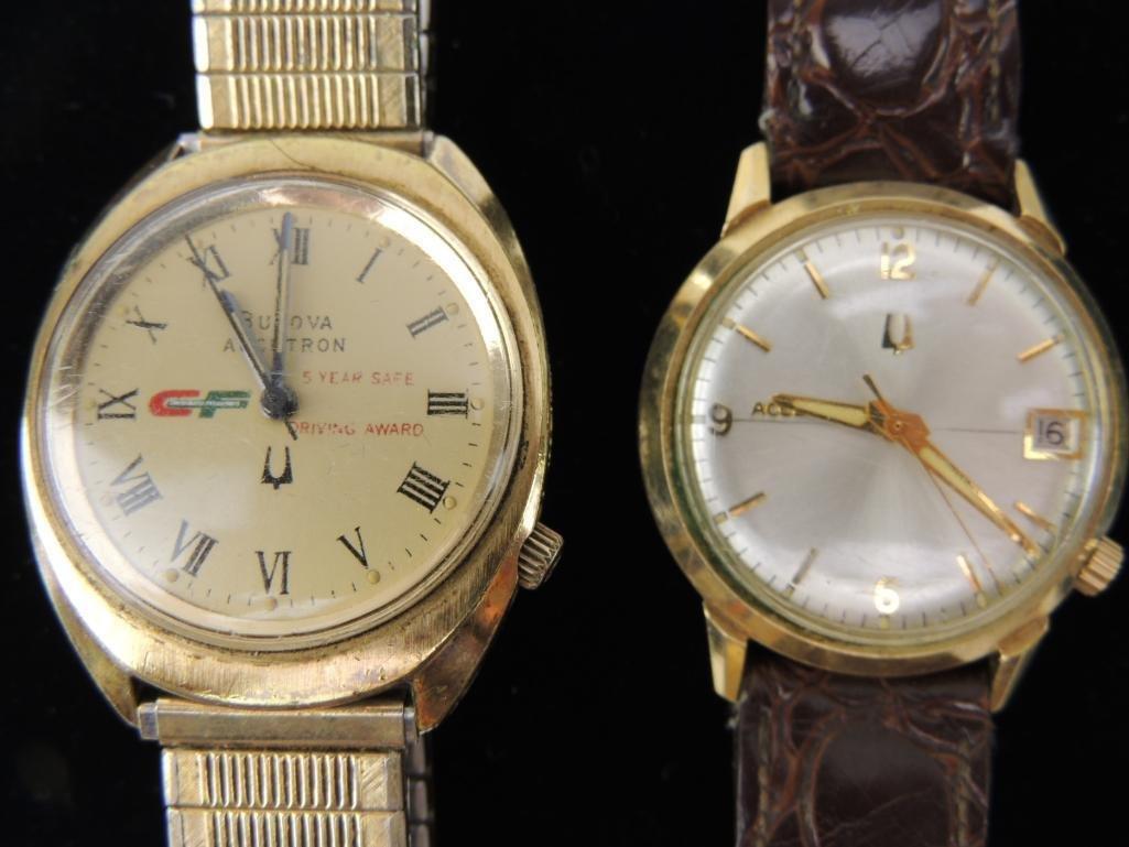 Bulova Accutron Award Watches Lot of 2 - 2