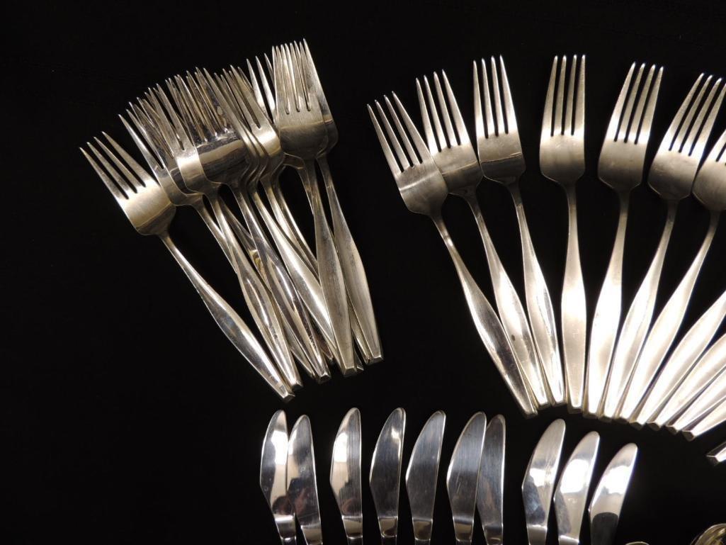 Mid Century Sterling Silver Gorham Flatware Set - 8