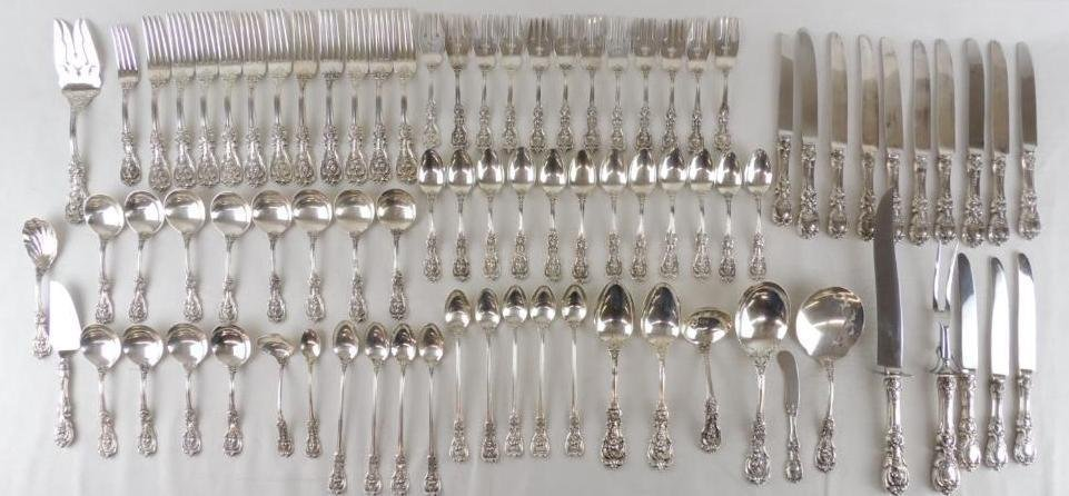 Reed & Barton Francis 1 Sterling Silver Flatware Set - 2
