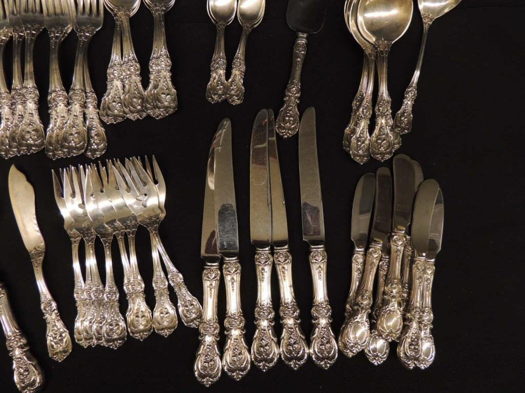 Reed & Barton Francis 1 Sterling Silver Flatware Set - 4