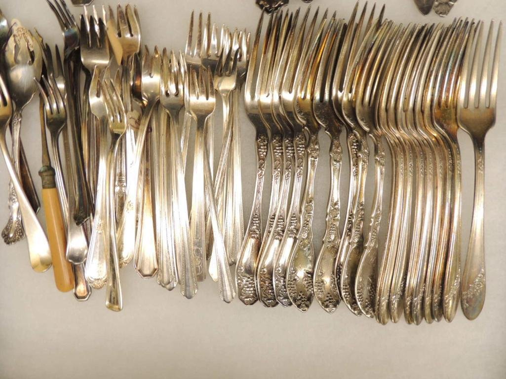 Group of Silver Plated Forks - 2