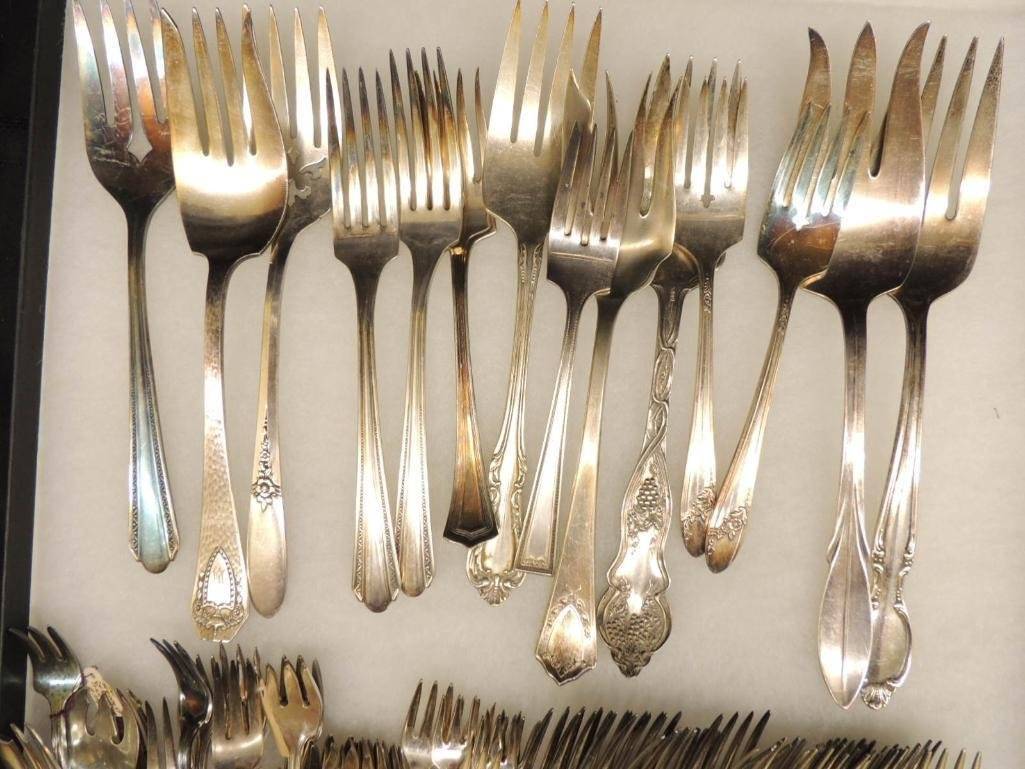Group of Silver Plated Forks - 3