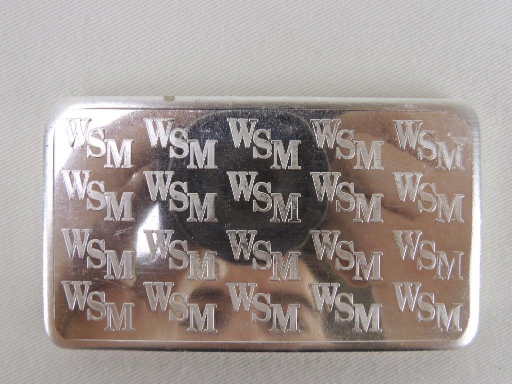 Wall Street Mint Ten Troy Ounces .999 Fine Silver Bar - 2