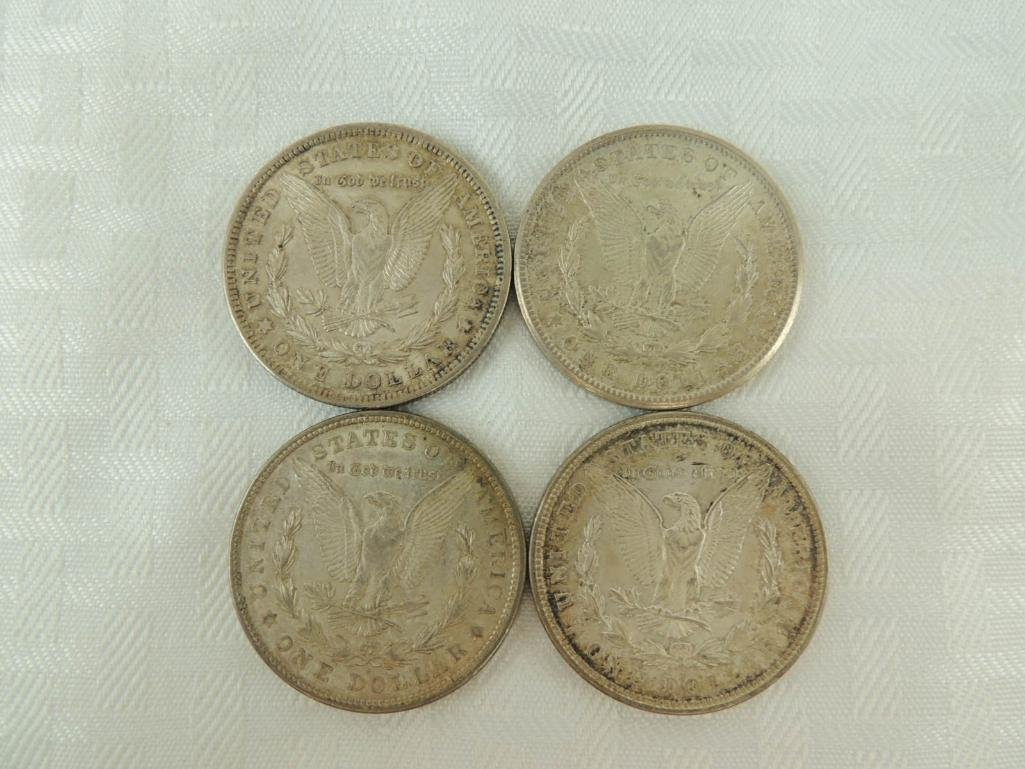 1921   P, D, and S Morgan Silver Dollars Group of 4 - 2