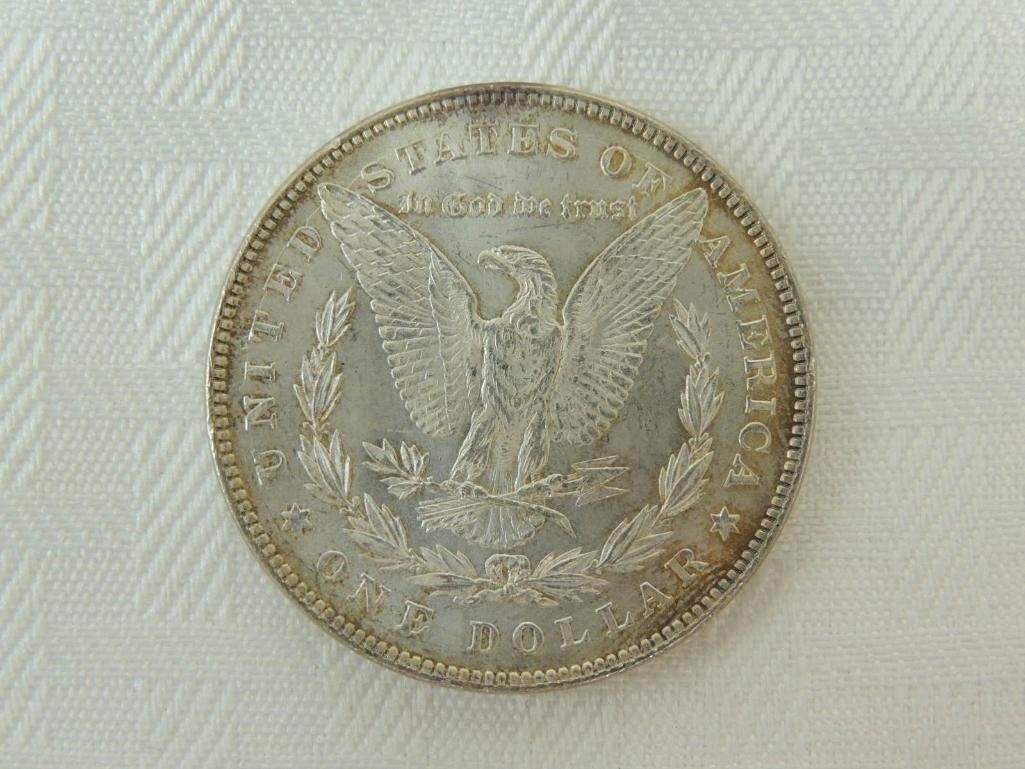 1878-P 7 over 8 Tail Feathers Morgan Silver Dollar - 2