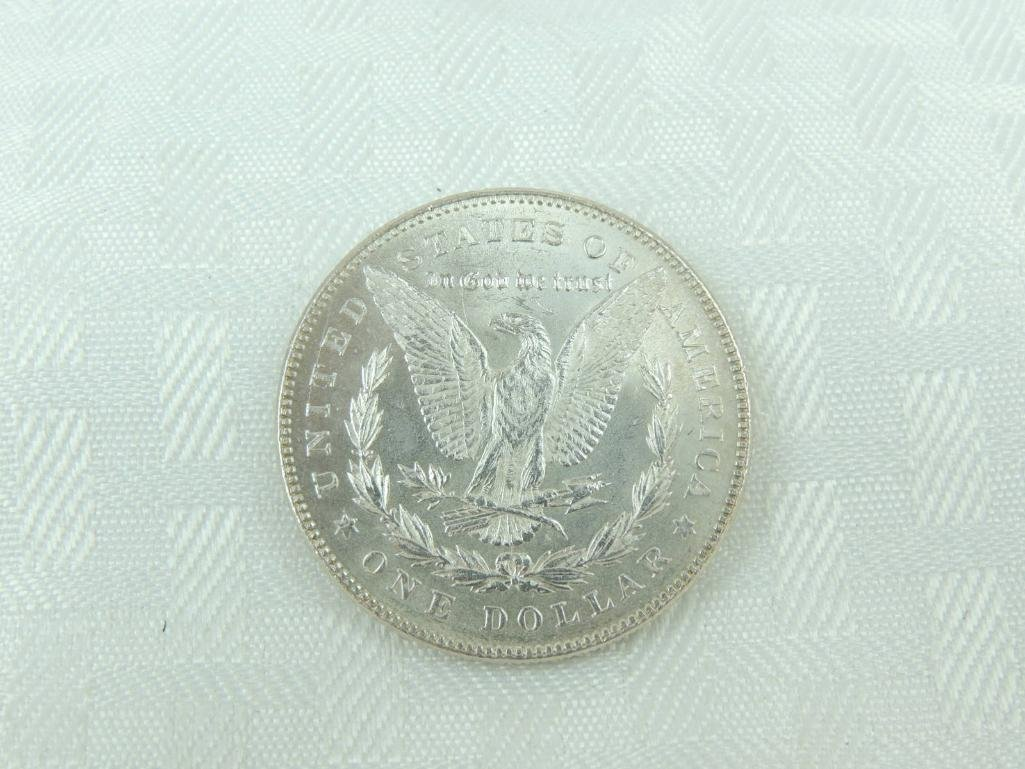 1878-P 7 Tail Feathers Morgan Silver Dollar - 2