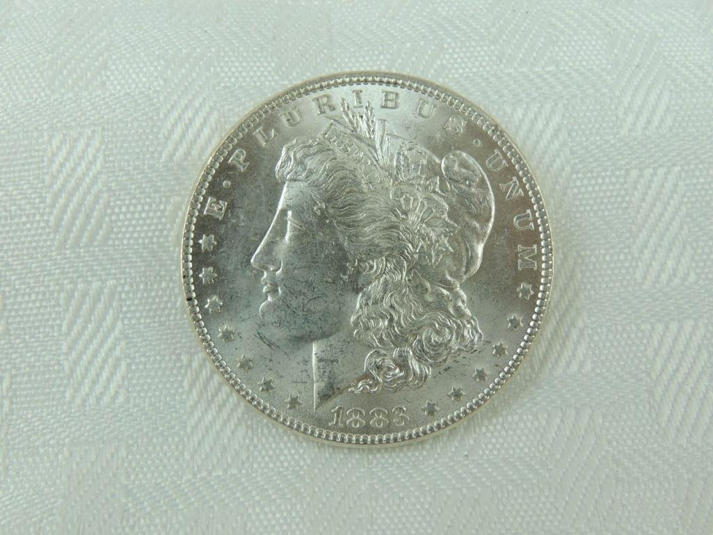 1883-P Morgan Silver Dollar