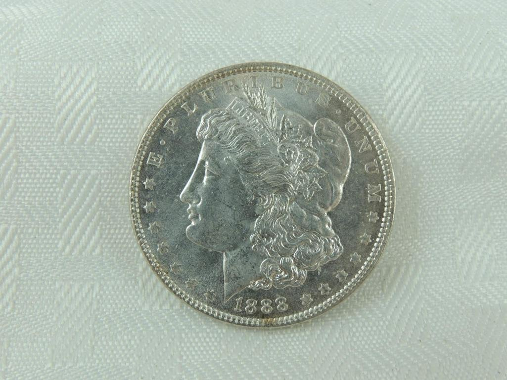 1888-P Morgan Silver Dollar