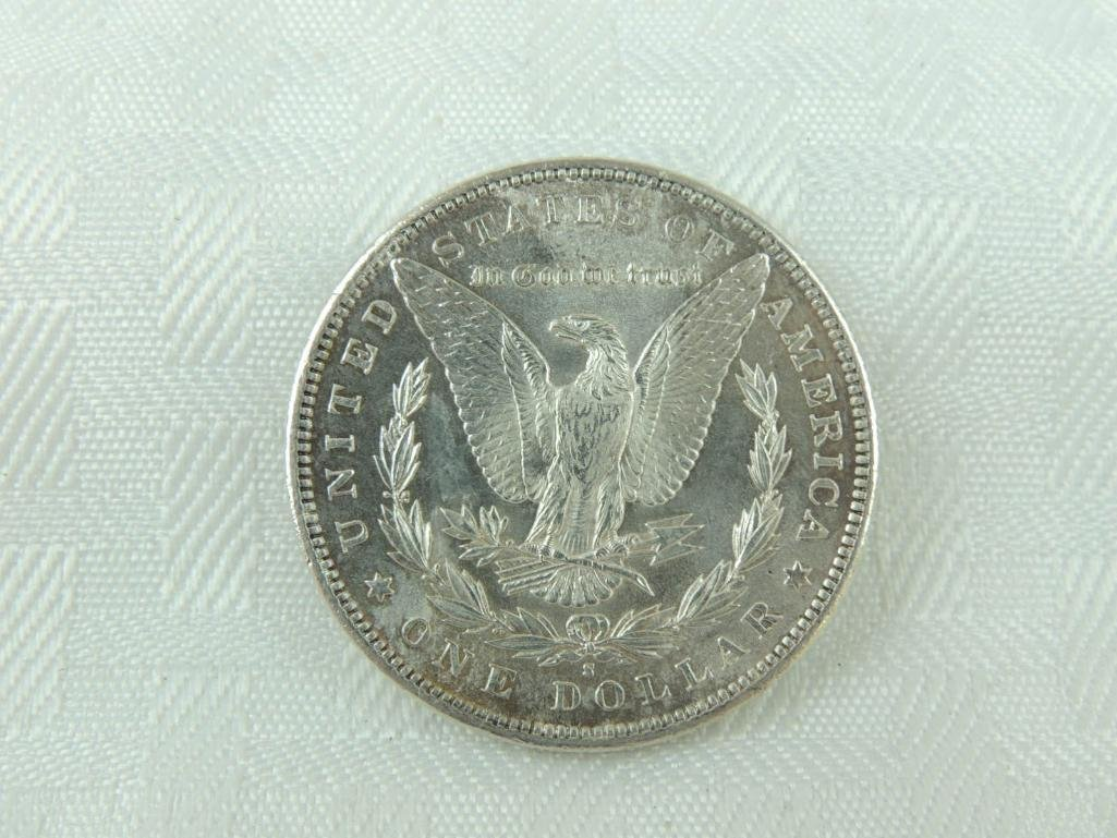 1891-S Morgan Silver Dollar - 2