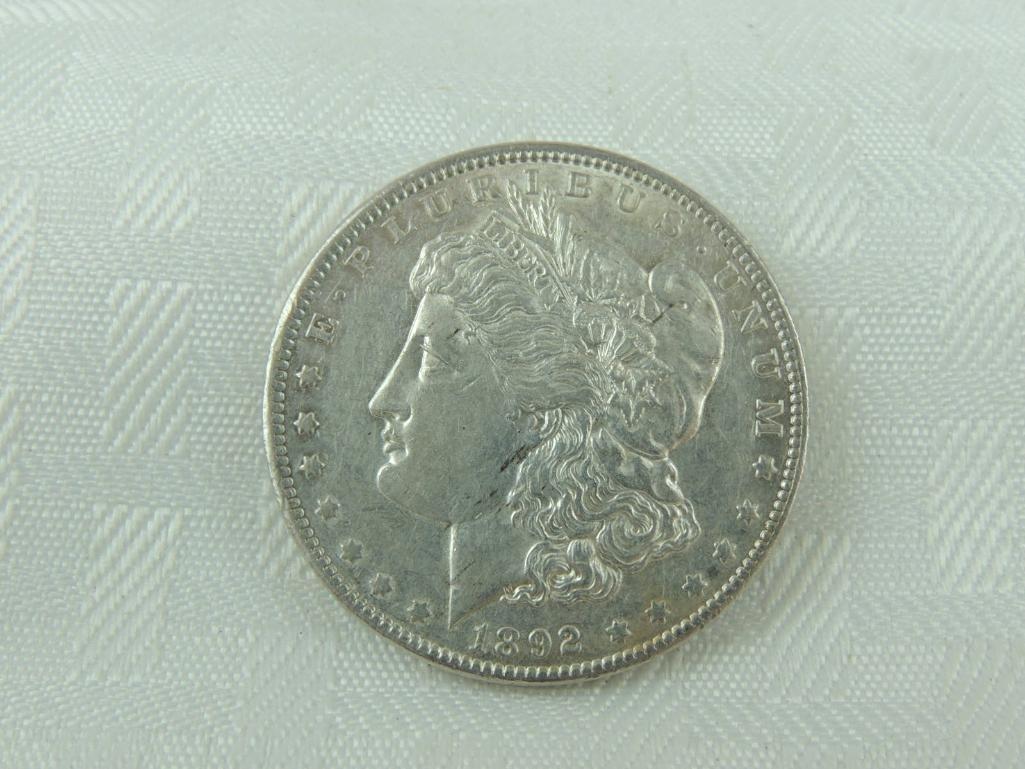 1892-P Morgan Silver Dollar