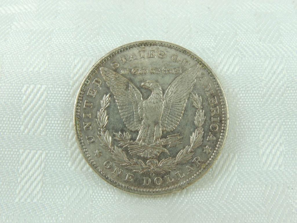 1896-O Morgan Silver Dollar - 2