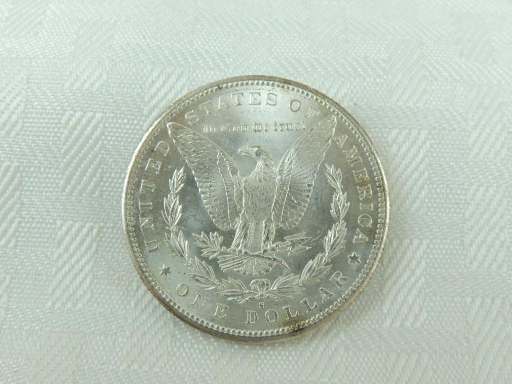 1897-S Morgan Silver Dollar - 2