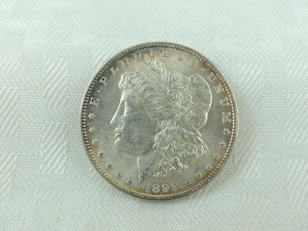 1899-P Morgan Silver Dollar