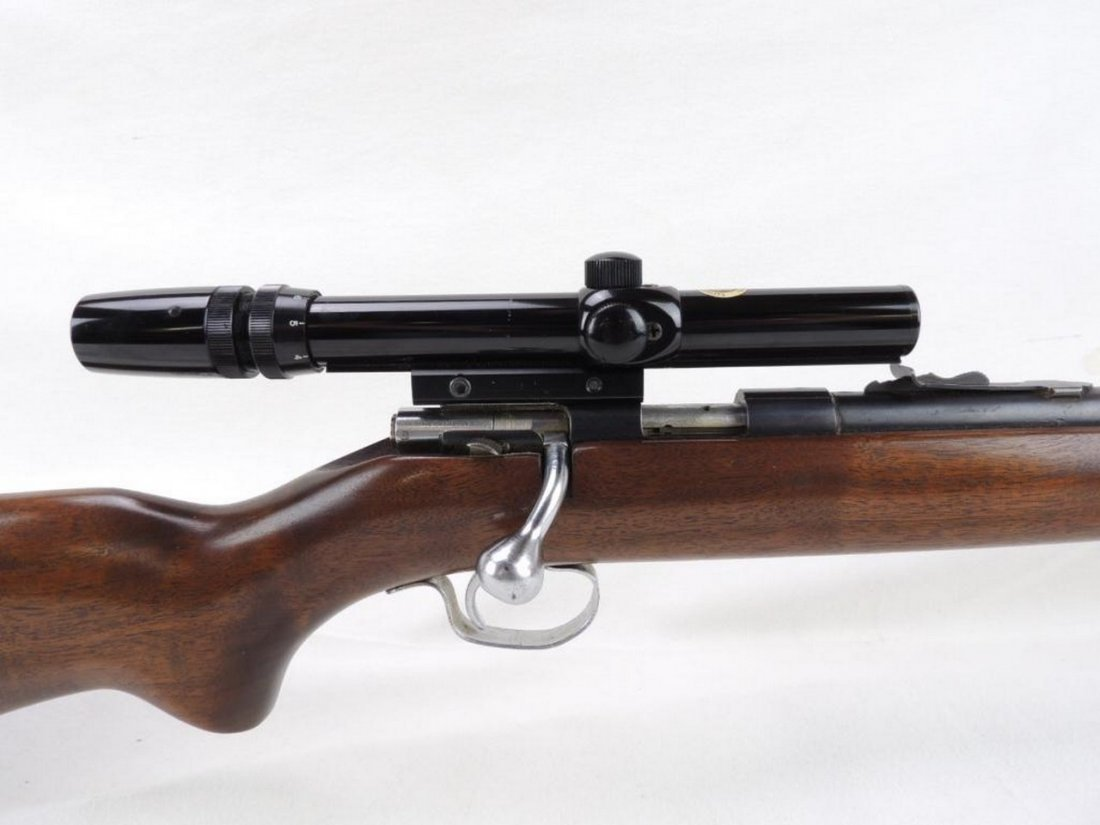Winchester Model 72A .22 Cal. Bolt Action Rifle with 3x